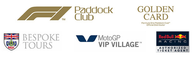 Affiliated with The Paddock Club, MotoGP VIP Village, The BRDC and Red Bull Racing