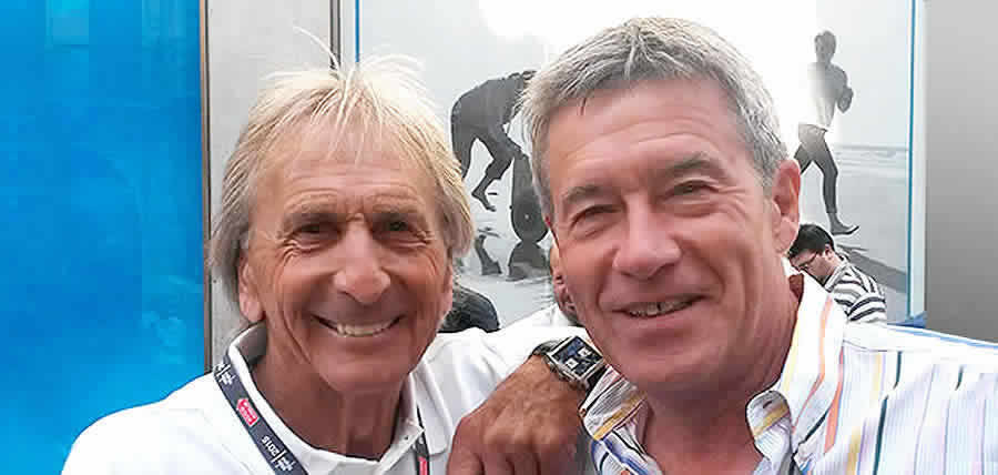 Meet motoring legend Tiff Needell at one of our guided grand prix tours